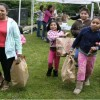 Families Picking Up Supplies